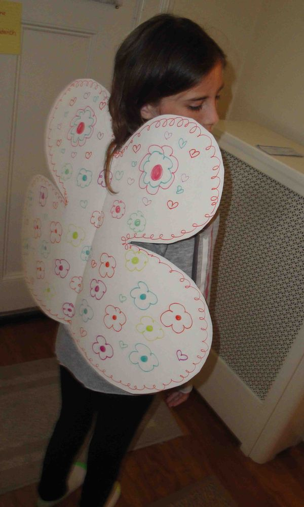 Make Fairy Wings With Your Child