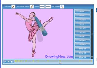 Draw-a-ballerina