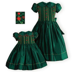 Little girls christmas dresses-ws