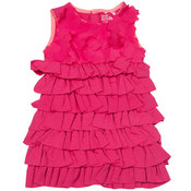 Pink-ruffle-dress