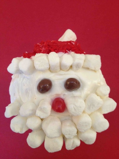 Santa-christmas-treat-cupcake