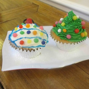 Christmas-treats-cupcakes